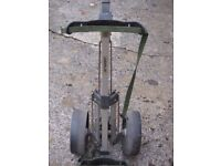 Caddylite Golf Trolley with removable wheels