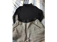 M & S shorts set age 11/12