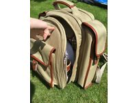 John lewis 2 Person Backpack Picnic Hamper and Cooler Bag. Used but in good condition.