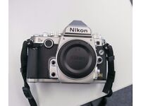Mint Nikon Df 16.3 MP FX-Format Body Silver - 5580 actuations!