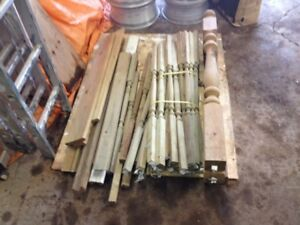 pressure treated green posts and spindles REDUCED IN PRICE again