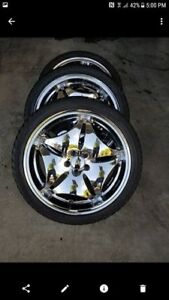 5x100 aftermarket rims and tires