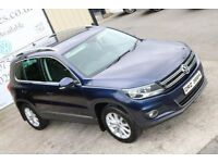 LATE 2011 VW TIGUAN 2.0 SE TDI BLUEMOTION TECH 4MOTION 5DR 138 BHP (FINANCE & WARRANTY AVAILABLE)