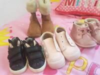 Toddler size 3 winter shoe bundle
