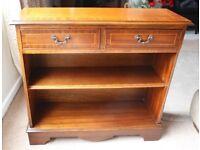 Reproduction Regency mahogany bookcase