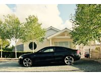 Audi A5 Black Edition Coupe Black **REDUCED MUST SELL* Leather Auto S Tronic LOW MILES A1 Condition