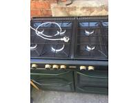 Gas Range Cooker, With Hood, 8 Rings