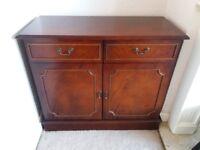 Mahogany veneer sideboard and corner unit for sale