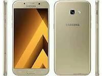 Samsung Galaxy a5 2017 gold mobile phone