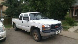 2001 GMC Sierra Extended Cab SL Special Edition