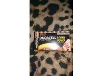 Duracell AAA batteries pk 16
