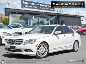 2009 MERCEDES BENZ C230 4MATIC |BLUETOOTH|SUNROOF|ONLY 97,000KM