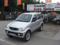 2003 53 DAIHATSU TERIOS 1.3 SPORT PETROL 5 DOOR 4X4 IN GOOD CONDITION FOR ITS YE