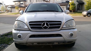 2000 Mercedes-Benz M-Class ML55 AMG SUV, Crossover