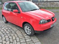 2004 SEAT AROSA S 1.0 54000 MILES FROM NEW FULL SERVICE HISTORY 11M MOT