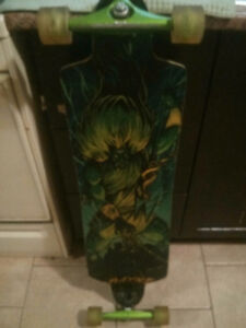 Rayne Longboard With Light Up Tires