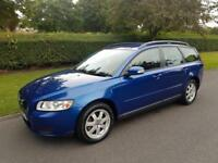 VOLVO V50 1.6 (A/C) S - 5 DOOR - ESTATE - 2007 - BLUE ** LOW MILES **