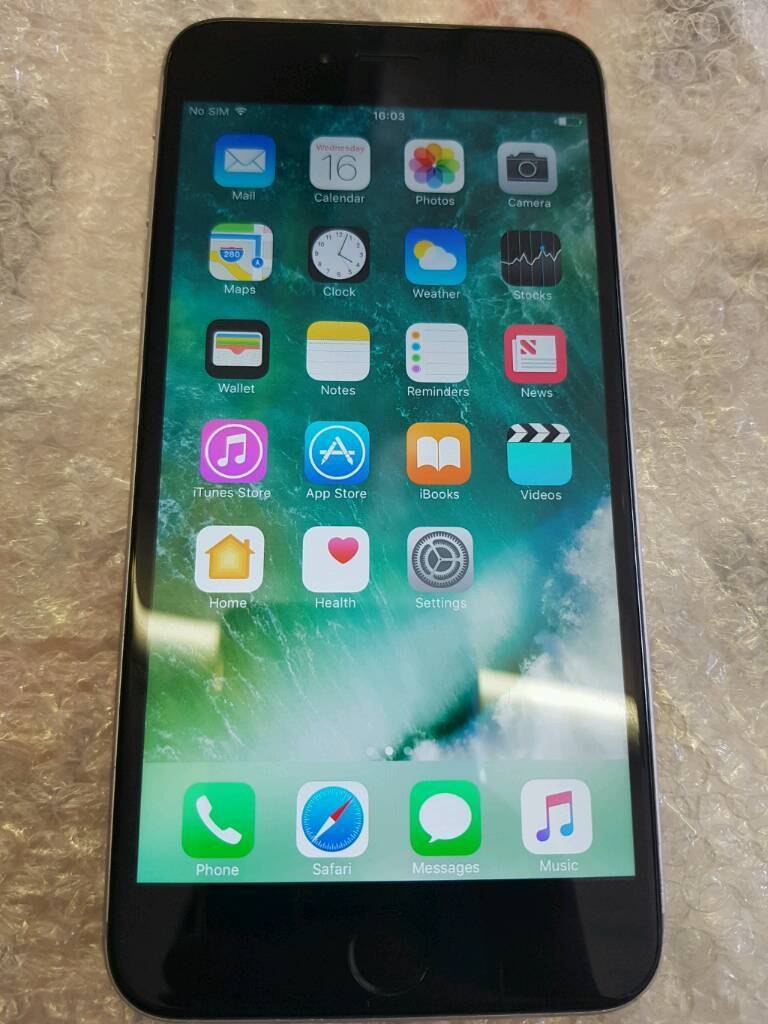 IPHONE 6 PLUS 16GB O2in Portsmouth, HampshireGumtree - Iphone 6 plus 16gb o2In perfect working order, great battery life.Slight crack on rear camera glass but has no effect on camera as seen on picture. Very cheap to replace. Few marks on frame and back but nothing majorWill come with charger, cable,...