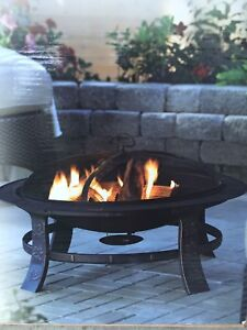 Collingwood Outdoor Fire Bowl (Never Opened)