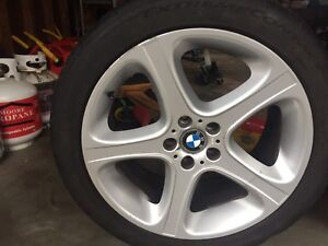 BMW rims and summer tires