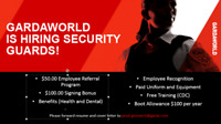 Hiring Licenced Security Guards