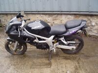 Suzuki sv650 1999 breaking for spares only frame and v5 available
