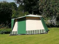 Relum Canaria 4/K tent for sale. Sleeping area for 4 and small itchen extension.