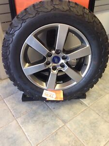 Set of four ford wheels with Bfgs