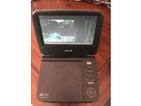 Philips Portable DVD Player - Single Screen