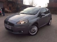09 plate - Fiat punto grande - 3 door -11 months mot - 68K warranted miles - face lift model
