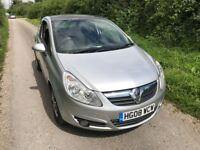 2008 Vauxhall Corsa 1.2 Petrol, LOW mileage, Panoramic Sunroof, NEW MOT, Free Delivery