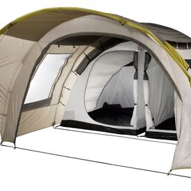 Brilliant 6 MAN FAMILY TENT - BEIGE - USED, IN EXCELLENT CONDITION, BY DECATHLON