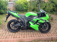 Kawasaki ZX-6R 599cc Motorbike. Less than 5k. Excellent condition.