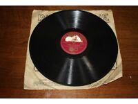HMV 78 RPM Record - I Cover The Waterfront & Marinela
