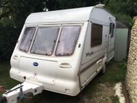 2 birth Bailey caravan for sale