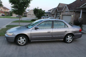 2000 Honda A㏄ord Luxury EX Sedan-Good Condition Price Negotiable