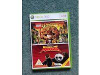 Indiana Jones and Kung Fu Panda Xbox 360