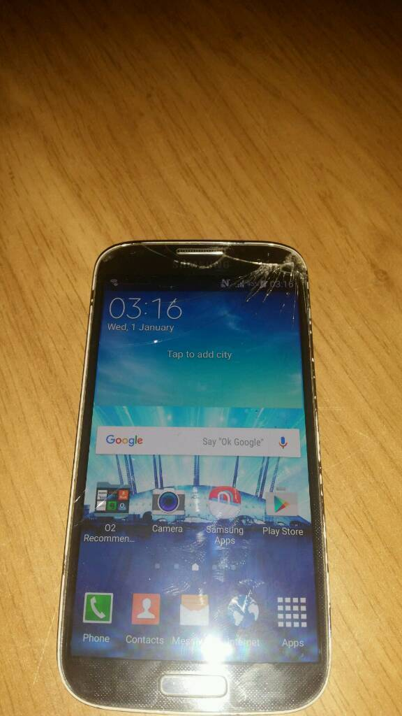 16gb samsung galaxy s4 unlocked factory resetin Belfast City Centre, BelfastGumtree - Samsung galaxy s4 mobile 16gb version unlocked with 4gb sd memory card fitted . Works well. Phone is reset back to factory settings . The screen however has some scratches and cracks but when using mobile its quite clear enough to use without any...