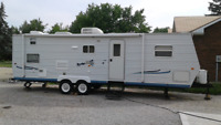 31 ft Jayco Bunk house  for rent