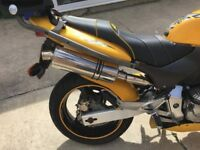 Immaculate condition low millage cb600 honda hornet