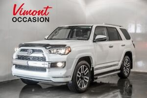 2016 Toyota 4Runner LIMITED 4X4 GPS CUIR HEATED % VENTED SEATS