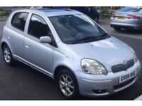 2004 Toyota Yaris 1.4 d4d diesel £30 tax full service history taxed and tested