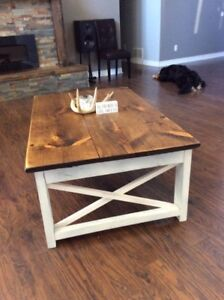 Two Custom Coffee Tables For Sale!