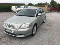 2003 Toyota Avensis 2.0 D4D Diesel T - Spirit Fully Loaded Black Leather Etc 1 Owner FSH