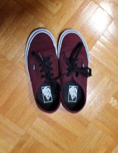 Vans Shoes - Burgundy - Size 5/6.5