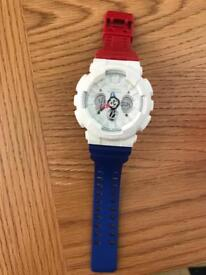 Gshock tricolour watch limited edition