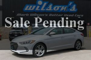 2017 Hyundai Elantra GLS SUNROOF! HEATED STEERING+FRONT+REAR SEA