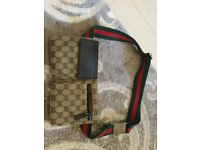 Original gg canvas belt