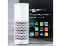NEW & Sealed Amazon Echo Alexa, White