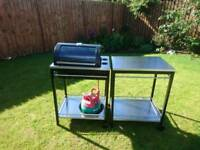 IKEA Klasen Gas Barbecue and Trolley